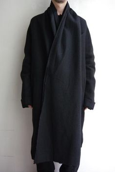 "ZIGGY CHEN ""WRAP COAT"""