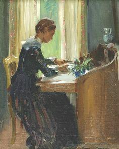 Edward Dufner(American, 1872-1957