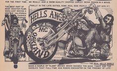 "taylorhaydenhill: "" Built to Boogie: Hells Angels, Oakland MC "" Old School Motorcycles, Motorcycle Clubs, Hells Angels, David Mann Art, Harley Davidson Wallpaper, Angels Logo, Custom Big Rigs, Biker T Shirts, Biker Chick"