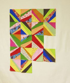 Any way you slice it quilt.  What fun!!
