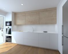 Modernidad y clasicismo en una cocina