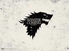 "House Stark ""Winter is Coming""  #GameofThrones"