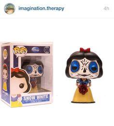 Snow White day of the dead custom!!