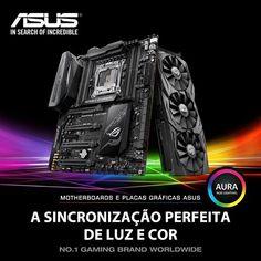 Já conheces a iluminação RGB AURA da Asus ? Customiza o teu computador com uma variedade de 16.7 milhões de cores combina com outros produtos AURA para um sistema épico ao teu gosto.  #NovoAtalho #ASUS #AURA #RGB