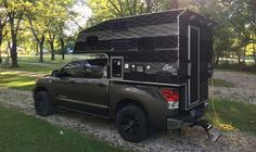 Camping in Indiana with a Capri Maverick camper, http://www.truckcampermagazine.com/camper-lifestyle/shooting-monsters-location/
