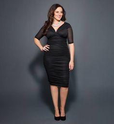 Vestido negro #curvy