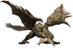 Rathian from Monster Hunter 3 (tri-)