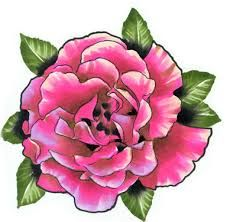 Carnation tattoo for January Birthday  Kiara, Julia and Grandma D