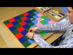 ▶ 119 Decimal Checkerboard with Multiplication - YouTube