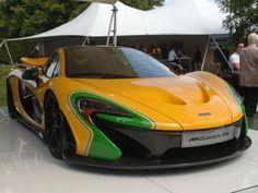 McLaren P1 faz homenagem a Ayrton Senna em Goodwood - Notícias Automotivas - Notícias de carros