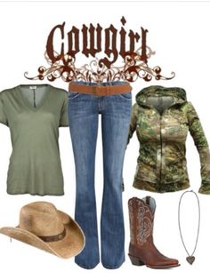 Country girl outfit:) ... maybe without the shirt