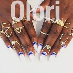 Oloriiiii @oloriswank 's NEW✨✨ #nail #nails #nailart #naildesign #japaneseart #japanesenail #gelart #gelnails #mihonails #olori