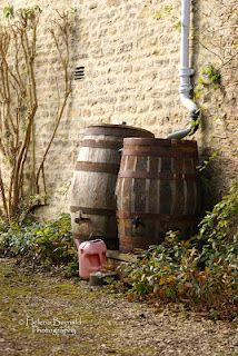 rain barrels. Make for back patio spout with overflow tube from the top and faucet on the bottom....!!!!!