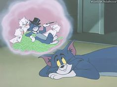 We learned to dream big. 33 Lessons Saturday Morning Cartoons Taught Us Tom And Jerry Gif, Tom And Jerry Pictures, Tom And Jerry Memes, Tom And Jerry Cartoon, Looney Tunes Cartoons, Old Cartoons, Cartoon Gifs, Cute Cartoon Wallpapers, Tom And Jerry Wallpapers