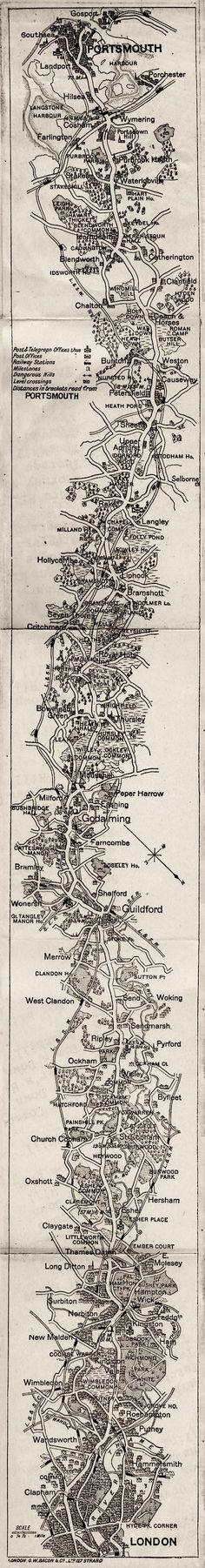 map image,   button to description