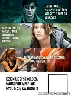 Read from the story Harry Potter Memy by -love-bomb- (♥) with reads. Wtf Funny, Funny Cute, Funny Memes, Polish Memes, Text Memes, 5 W, Harry Potter Memes, Verse, Hunger Games