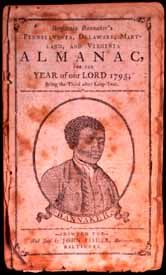 Benjamin Banneker 1795 African American author, scientist, mathematician, farmer, astronomer, publisher and urban planner, at age 64. The unknown artist who created the portrait depicts Banneker in the Quaker garb he always wore, a simple dark jacket and white shirt -- although he was closely affiliated with Quakers, Banneker never became a member of the Religious Society of Friends. n the 1793 edition, Banneker included his correspondence with Thomas Jefferson