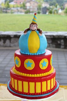 Curious George Birthday Party Ideas | Photo 3 of 18 | Catch My Party