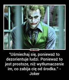 Some Quotes, Daily Quotes, Words Quotes, Wise Words, Motto, Joker Heath, Joker Joker, Sad Texts, Funny Mems
