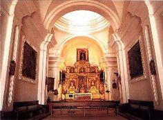 Interior de la iglesia de la estancia jesuitica Santa Catalina. Córdoba. España.