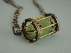 knotted string pendant Contemporary Necklaces Pendants by