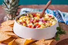 This Pineapple Salsa Recipe Will Be Your New Favorite Condiment   eHow