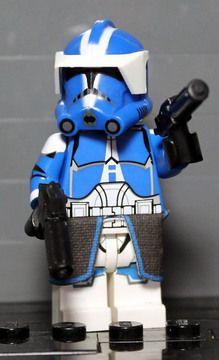 Clone Army Customs | P2 501st Commander Invert
