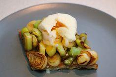 Tartines aux blancs de poireaux et oeuf mollet : Photo de l'étape 9 (Cliquez pour agrandir l'image)