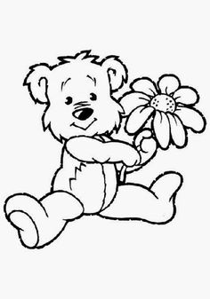 teddy bears 999 coloring pages