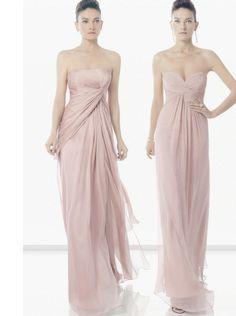 Un bello vestido rosado para esas amigas que te acompañarán Bridesmaid Dresses, Prom Dresses, Formal Dresses, Bridesmaids, Beautiful Dresses, Nice Dresses, Pale Pink Weddings, Maid Of Honour Dresses, Red Carpet Dresses
