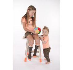 Dress like Flo t-shirt Molly fluo Kids Department = Dé webshop met hippe kinderkleding & accessoires voor baby's en kinderen van 0 tot 14 ja...