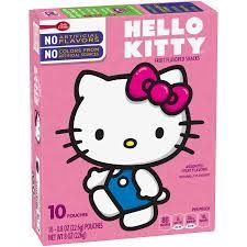 Image result for hello kitty snacks