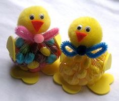 Cute Easter crafts.