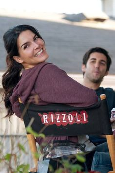 Rizzoli and Isles. It pleases me that he actually makes that face, it's not just his character