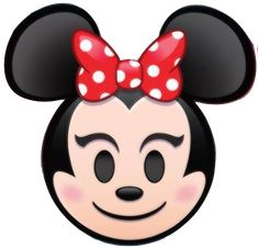 Minnie Mouse is an emoji in Disney Emoji Blitz. Minnie's skill is to earn more coins by clearing heart-eyed emojis. Mickey Mouse Ears Hat, Minnie Bow, Minnie Mouse, Disney Xd, Disney Junior, Disney Love, Emoji Characters, Disney Characters, Mickey Balloons