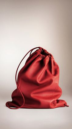 Burberry Prorsum Show soft leather backpack