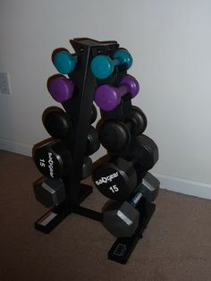 Com Cap Barbell A Type Dumbbell Rack Sports Outdoors