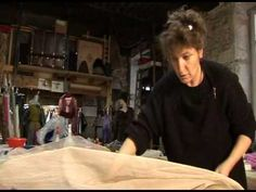 FRANCOISE HOFFMAN -CREATRICE LYONNAISE.  Fashion designer. Demonstration of fabric making. Highly recommend.