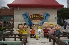 Peanuts Snoopy's World, Sha Tin, Hong Kong...never got to go in, but walked by it often.