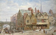 E Chester Painting ... chester paintings 1 louise rayner s chester paintings chesterwalls