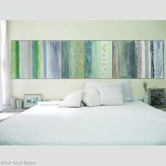 Leinwand Malerei Wall Art moderne abstrakte Kunst 32 von AsiyaBajwa