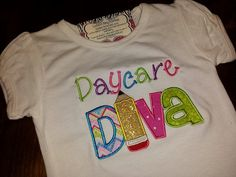 Daycare Diva ShirtFREE SHIPPING by SouthernBlingBowtiqu on Etsy