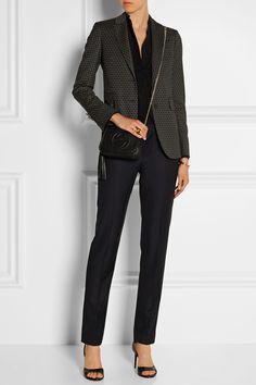 Gucci | Blazer en laine mélangée stretch imprimé | NET-A-PORTER.COM