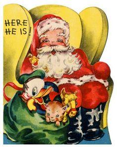 Santa with his sack