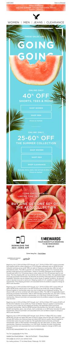 Hurry! 3 sweet sales are RINDIN' down… - Really Good Emails