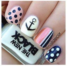Anchor nails maybe not the polkA dots