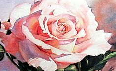 Painting Flowers in Watercolor painted on Hot Pressed Water Paper