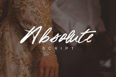 Absolute Script by Marcelo Inez on @creativemarket