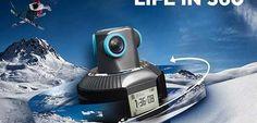 Geonaute Aktionkamera – Interaktive 360 Grad Ansicht in Videos