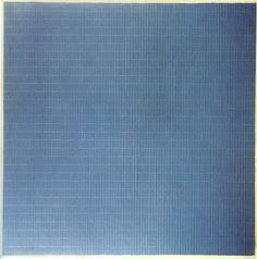 NIGHT SEA Agnes Martin 1963